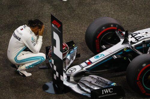 Hamilton consigue la última pole de la temporada en Abu Dhabi