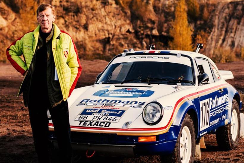 Walter Röhrl y los cinco mejores Porsche de rally