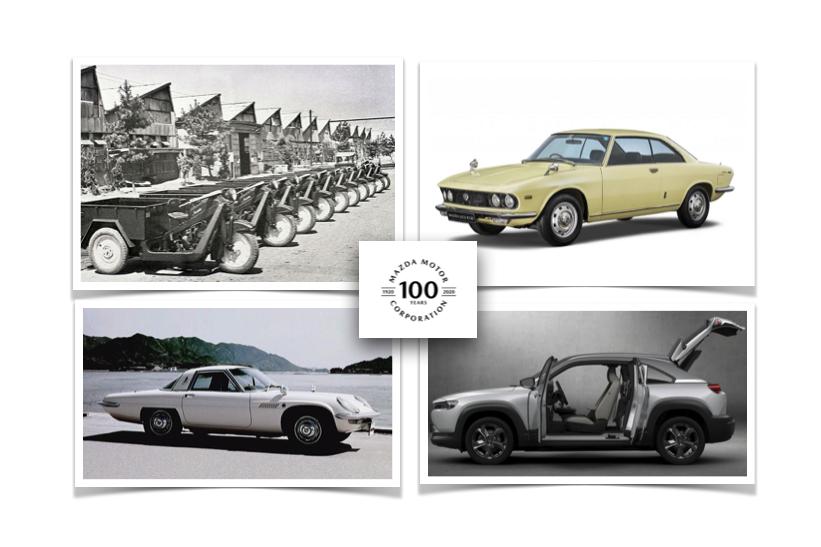 La historia de Mazda a 100 años de su fundación