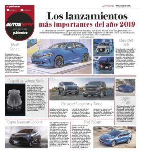Autos Publimetro del 2 de enero del 2020