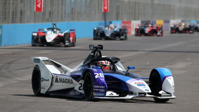 El equipo BMW llegará al México E-Prix como líder