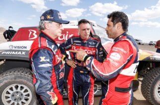 Vicoria y liderato para Sainz en la etapa 3 del Dakar