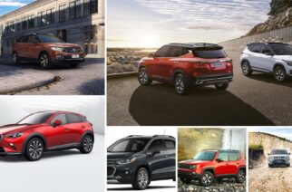 Camionetas compactas de venta en México 2020, comparativa