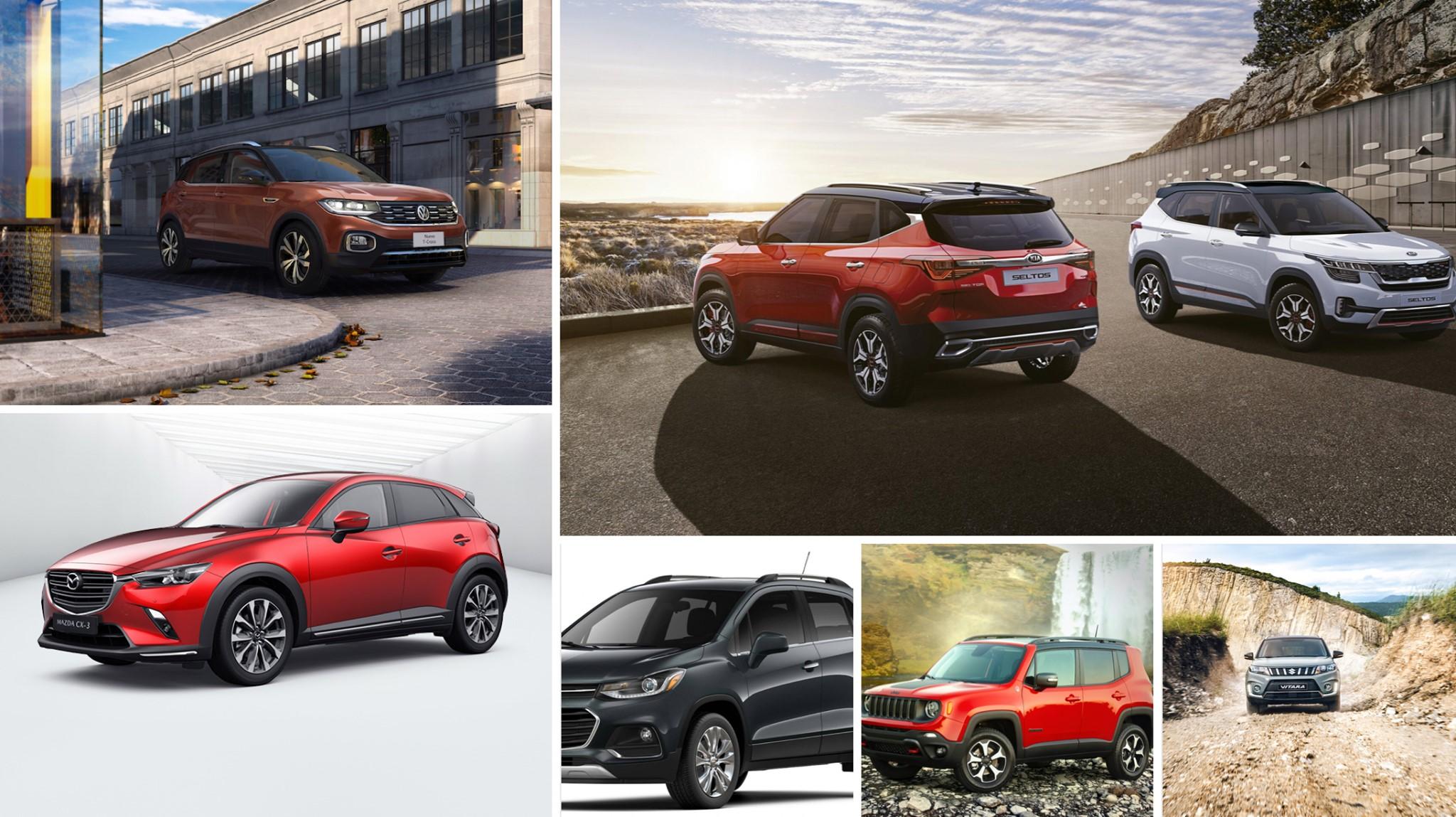 Comparativa de SUV compactos, todas las opciones