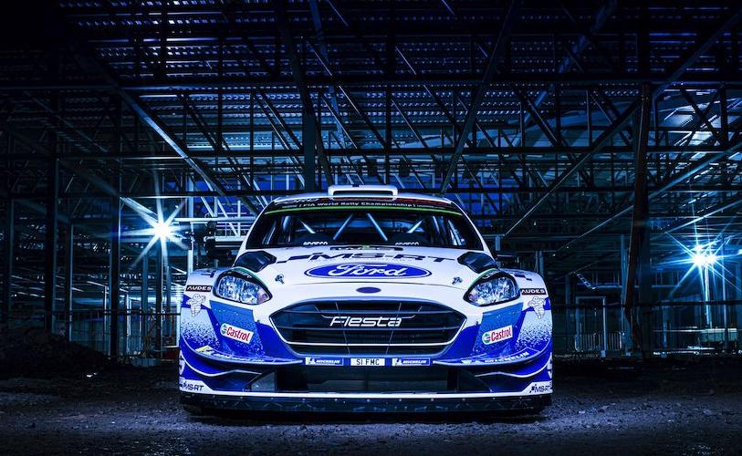 Ford Fiesta WRCs muestra su nuevo diseño
