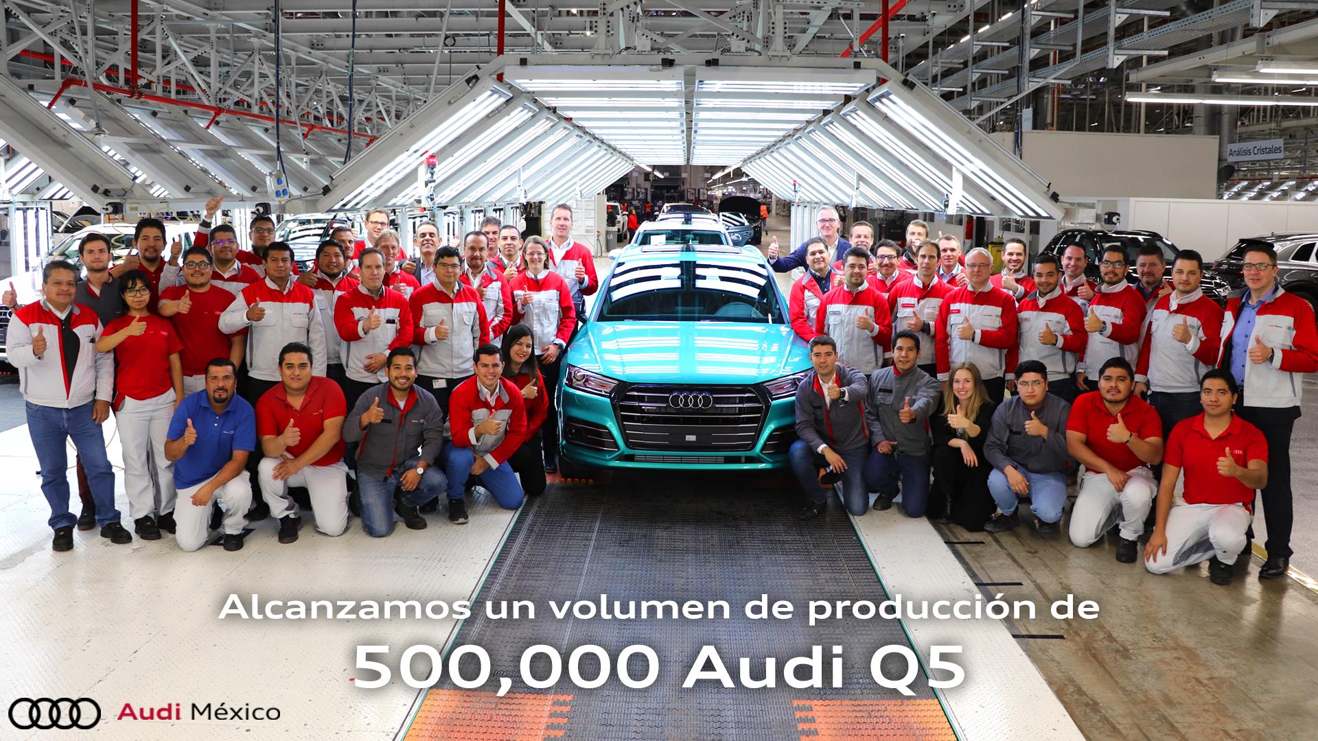 Medio millón de Audi Q5 se han producido en México