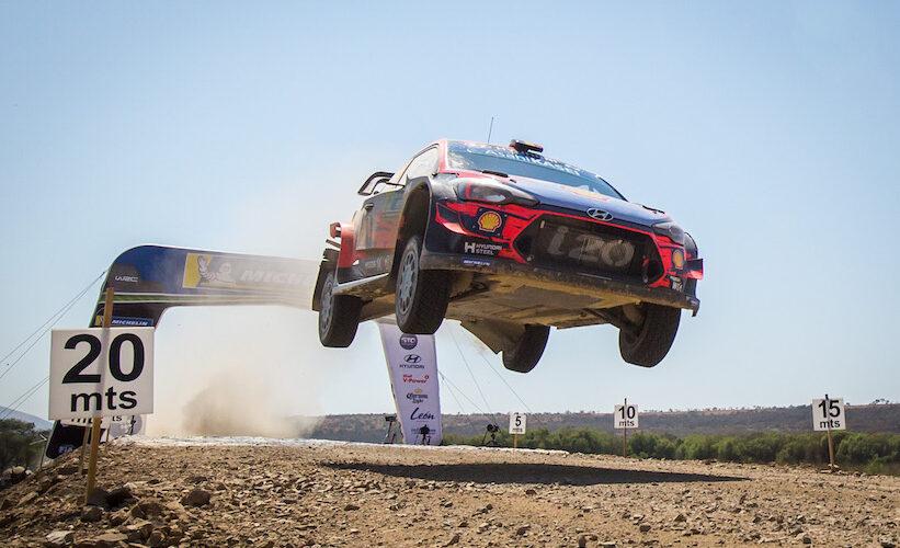 Hyundai imagen oficial del Rally Guanajuato 2020