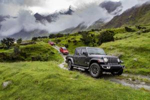 El poder del mundo Maori, Jeep Gladiator
