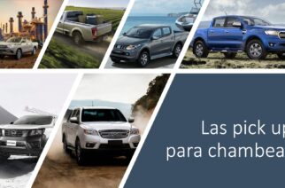 Comparativa de las pick up de trabajo
