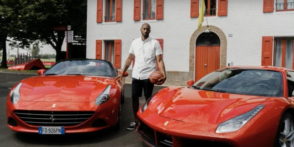 Estos fueron los autos de Kobe Bryant