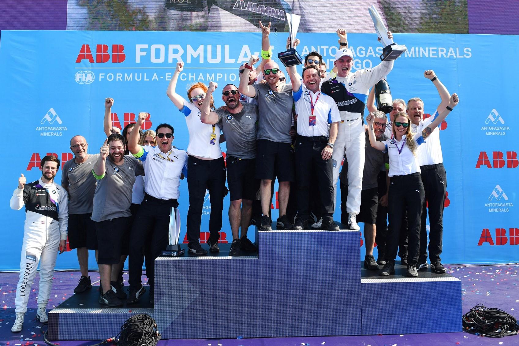 BMW líder del campeonato