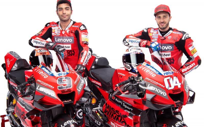 Ducati presenta la Desmosedici GP20 de MotoGP