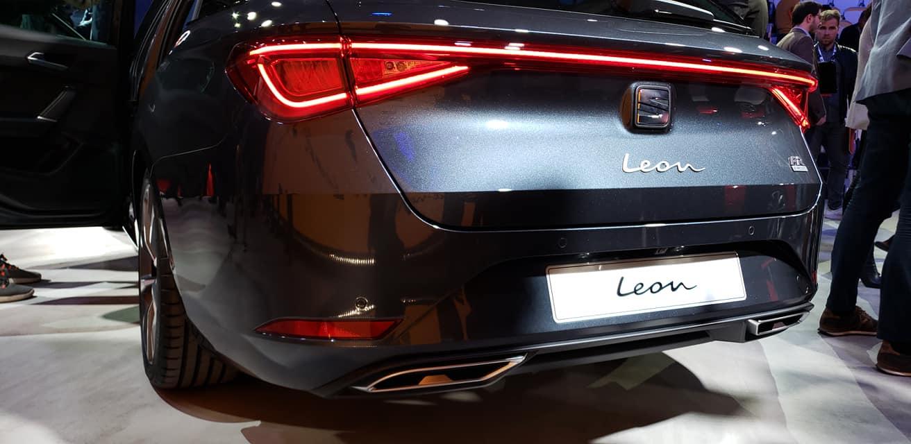 SEAT Leon 2021-Barcelona-Presentacion-oficial-2020- luces traseras Led