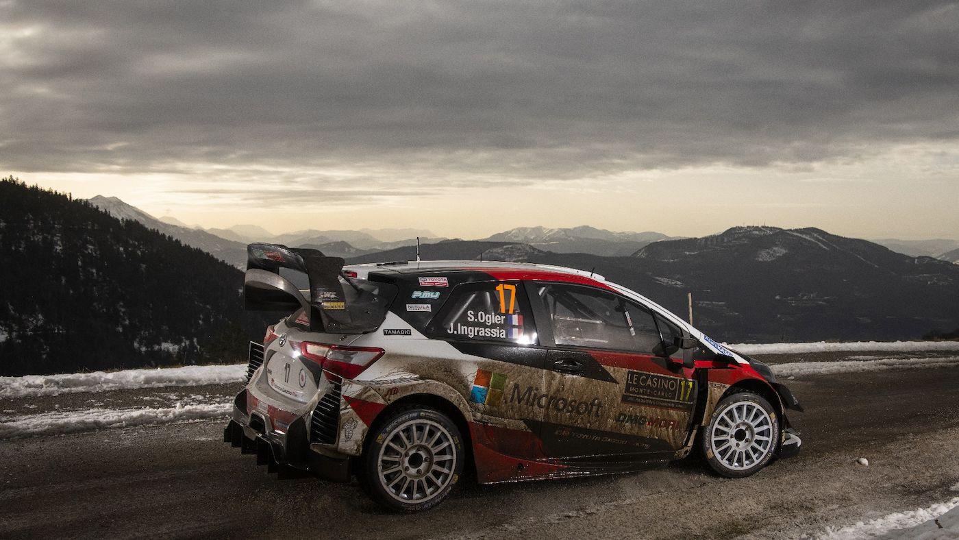 Sebastien Ogier Rally de Montecarlo