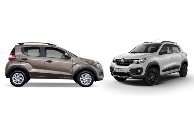 Renault Kwid y FIAT Mobi amigables para la ciudad