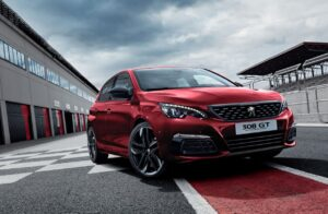 308 GT by Peugeot Sport track