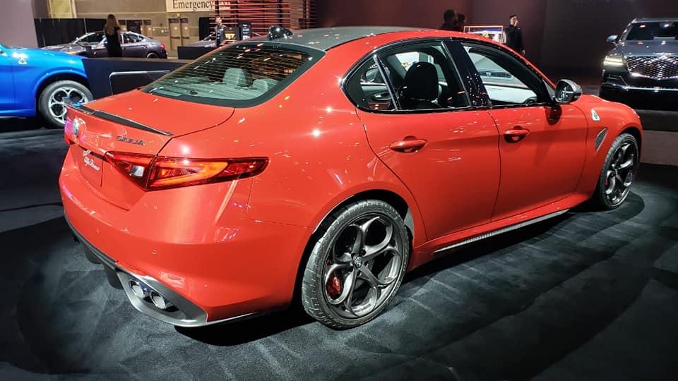 Alfa Romeo Giulia y Stelvio 2020 - Auto Show Chicago