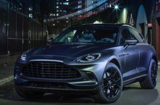Camioneta de Aston Martin