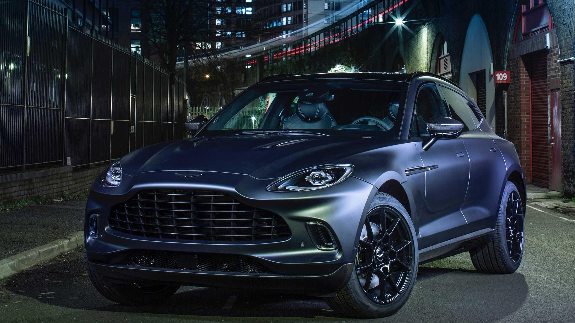 """Customización infinita con Aston Martin DBX """"Q"""""""