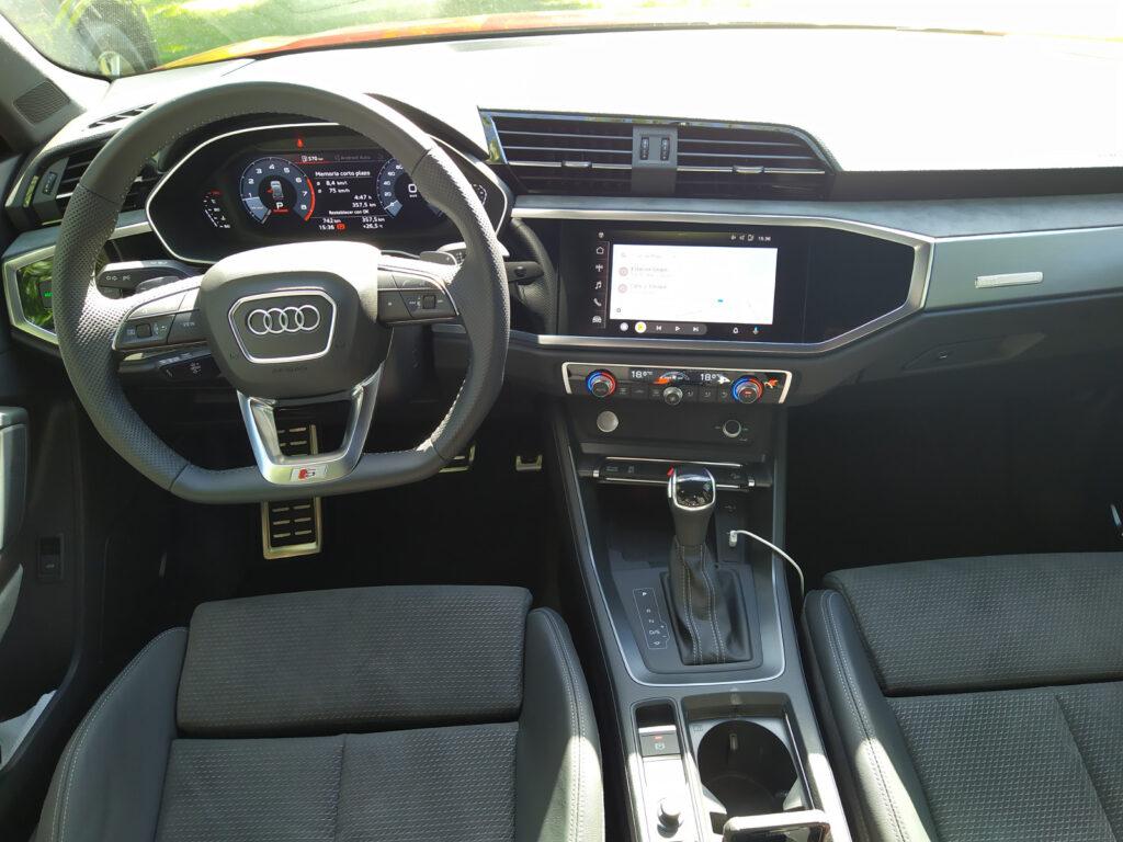 Interior de Audi Q3