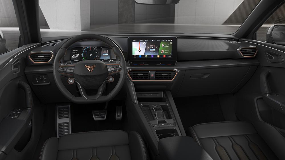Cupra Leon 2021 interiores