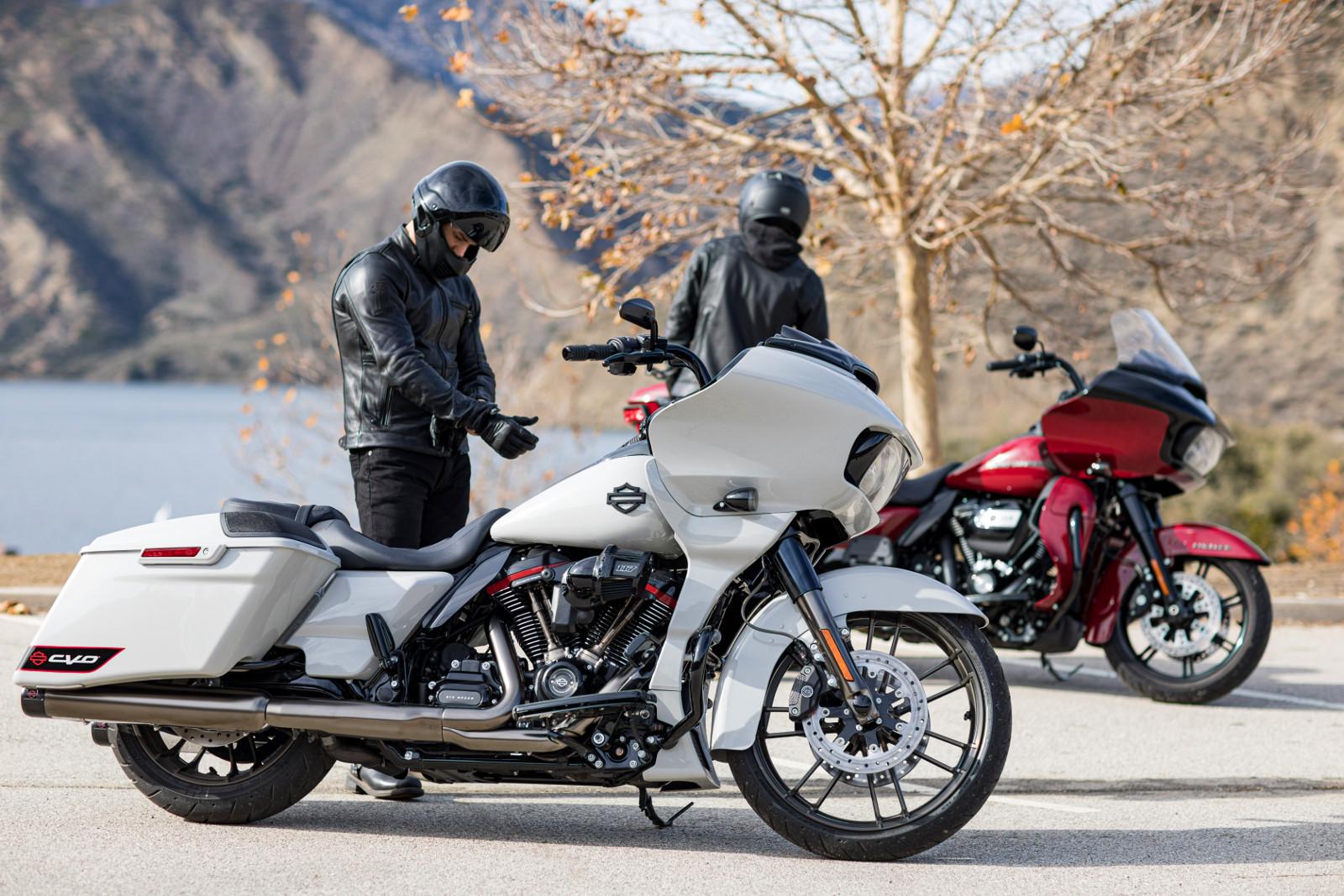 Harley-Davidson CVO Road Glide, estilo de primera clase