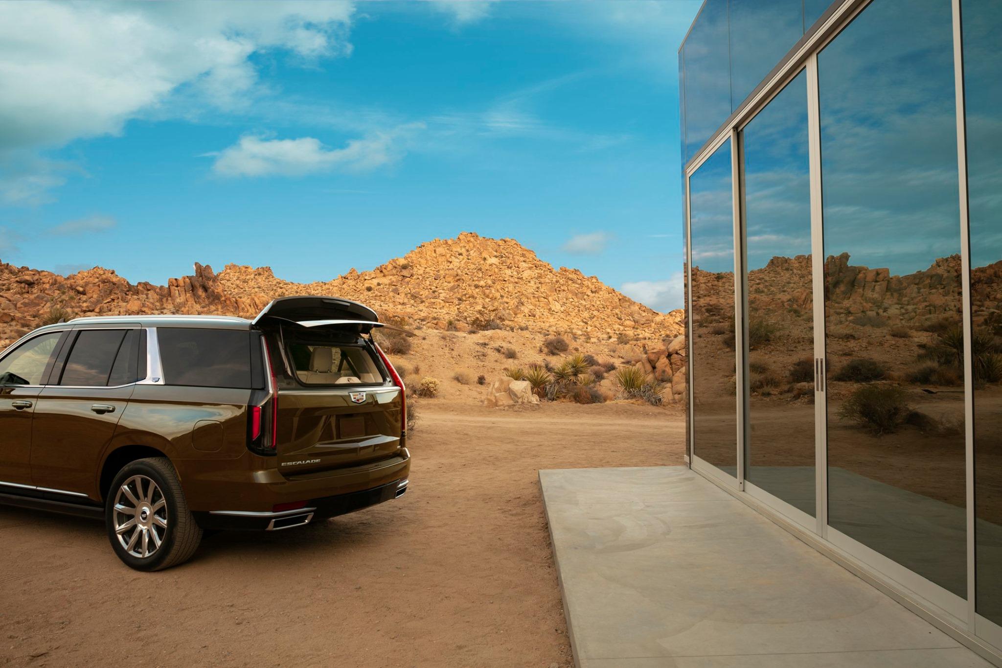 Cadillac Escalade 2021-quinta generacion-vista trasera