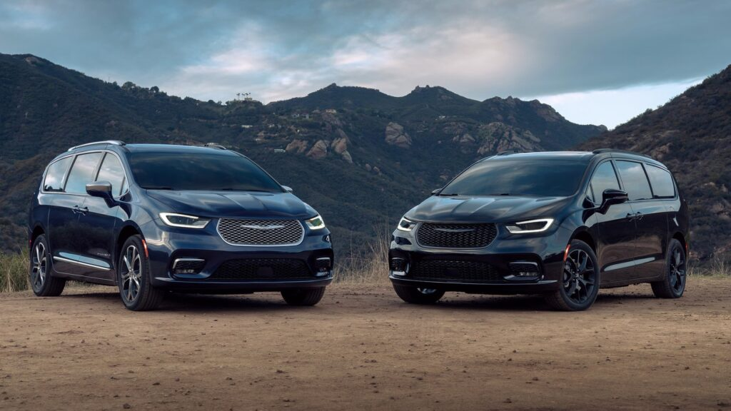 Chrysler Pacifica 2021-versiones