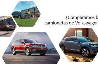 Así son los SUV de Volkswagen, diferencias, precio y coincidencias