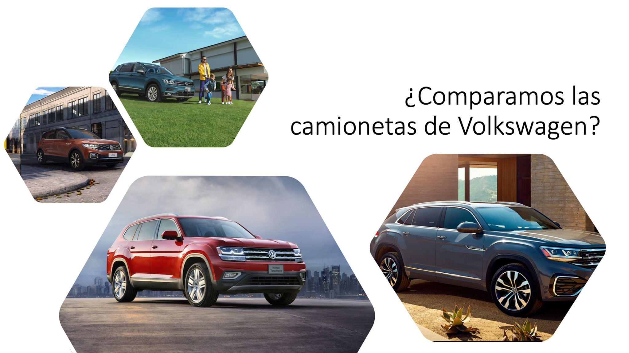 Crece oferta en los SUV de Volkswagen, conócelos a todos