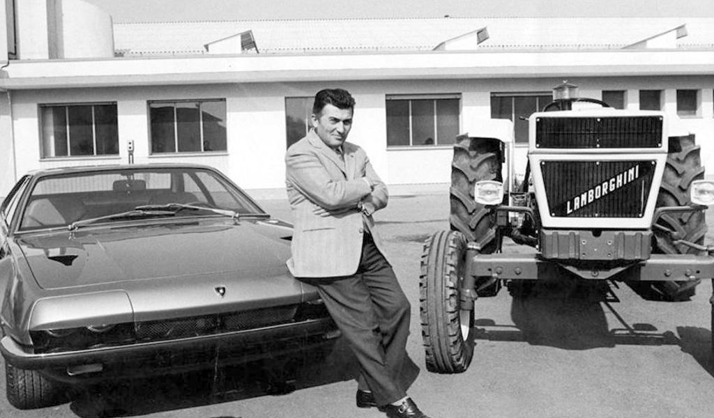 Ferruccio Lamborghini, el hombre que desafió a Ferrari