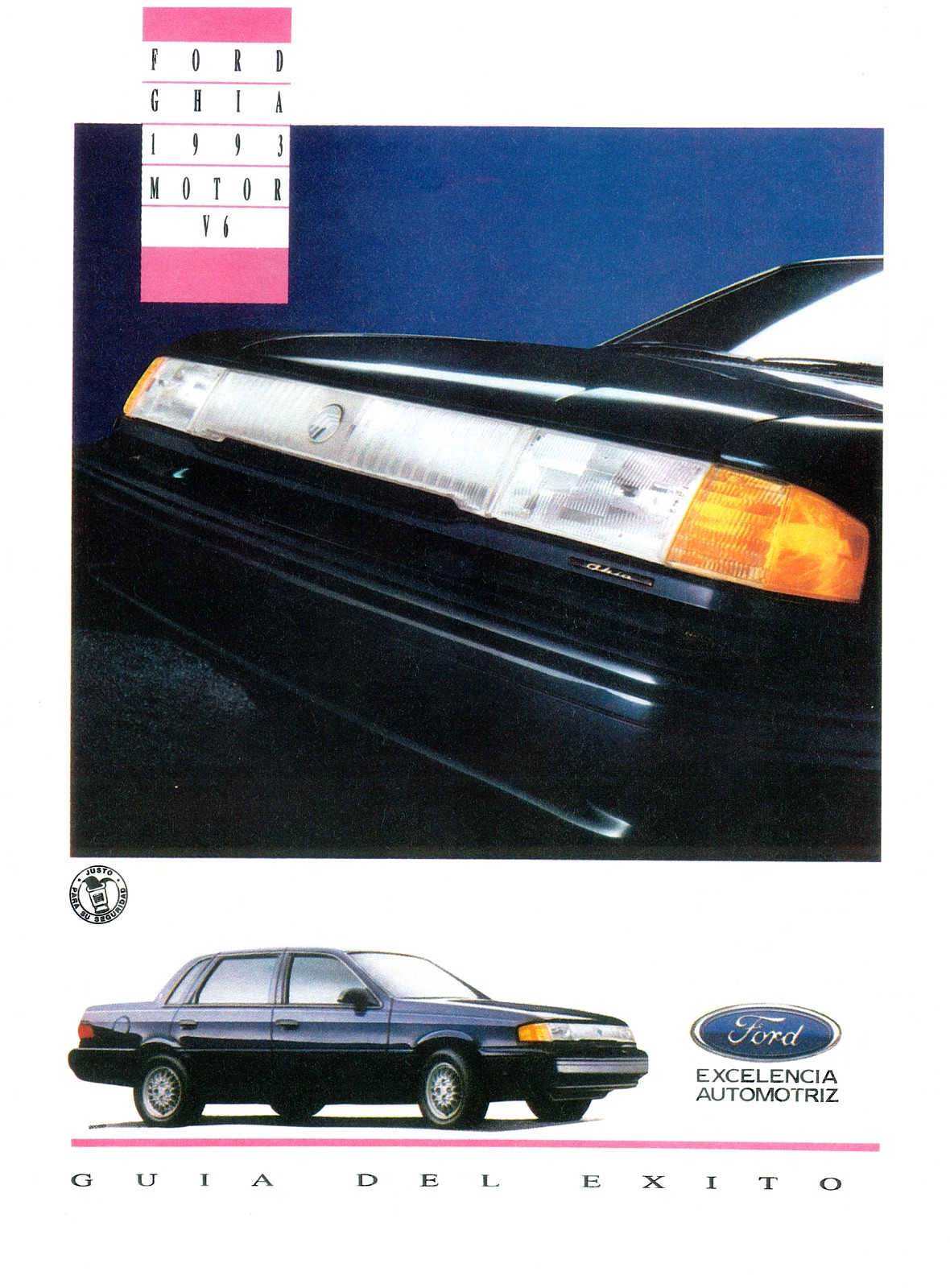 Ford Ghia Poster