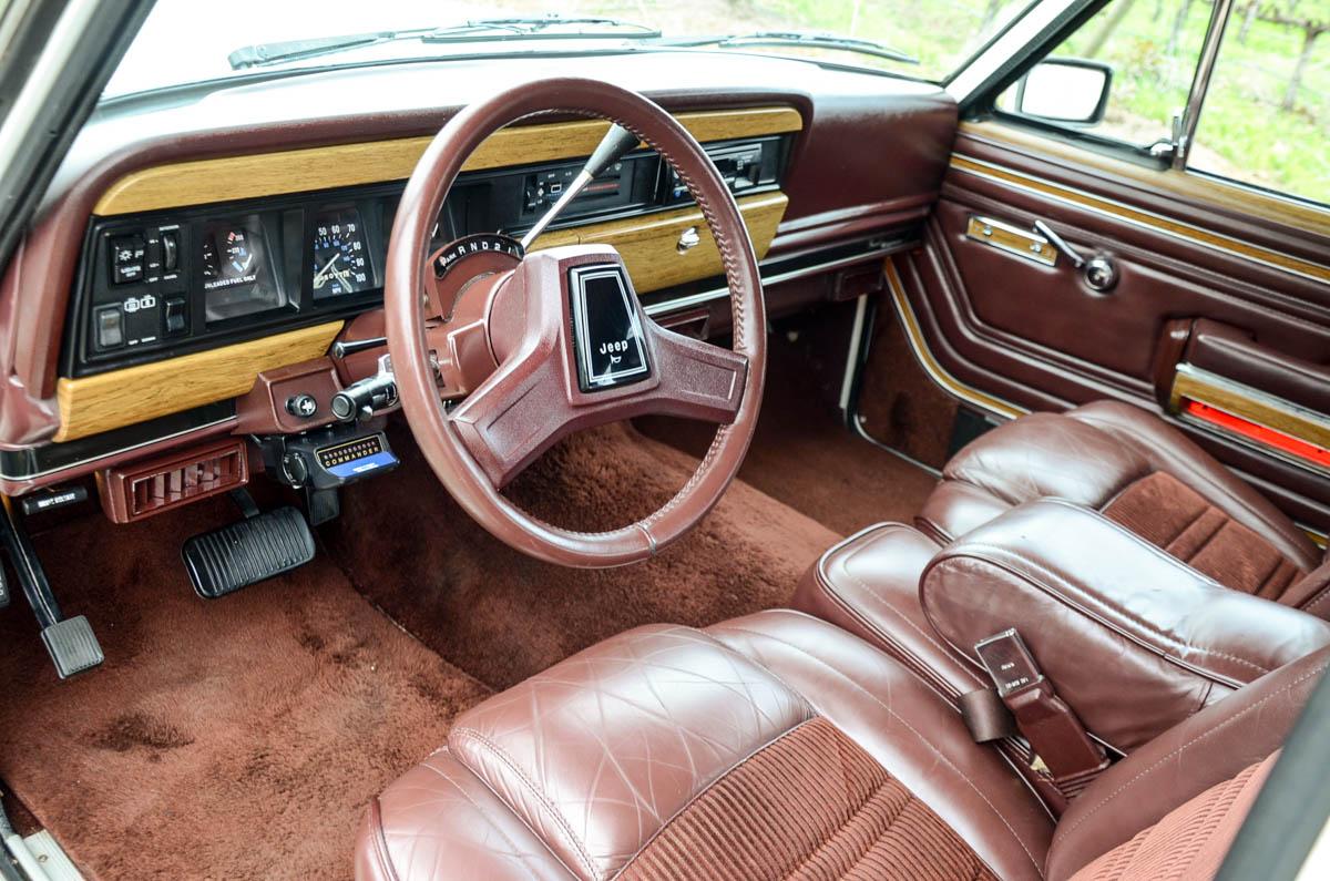 Interiores Wagoneer 1988