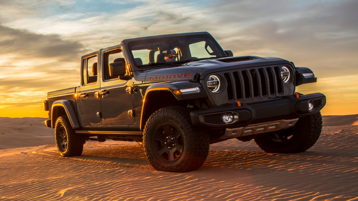 Jeep Gladiator Mojave Desert Rated 2020-