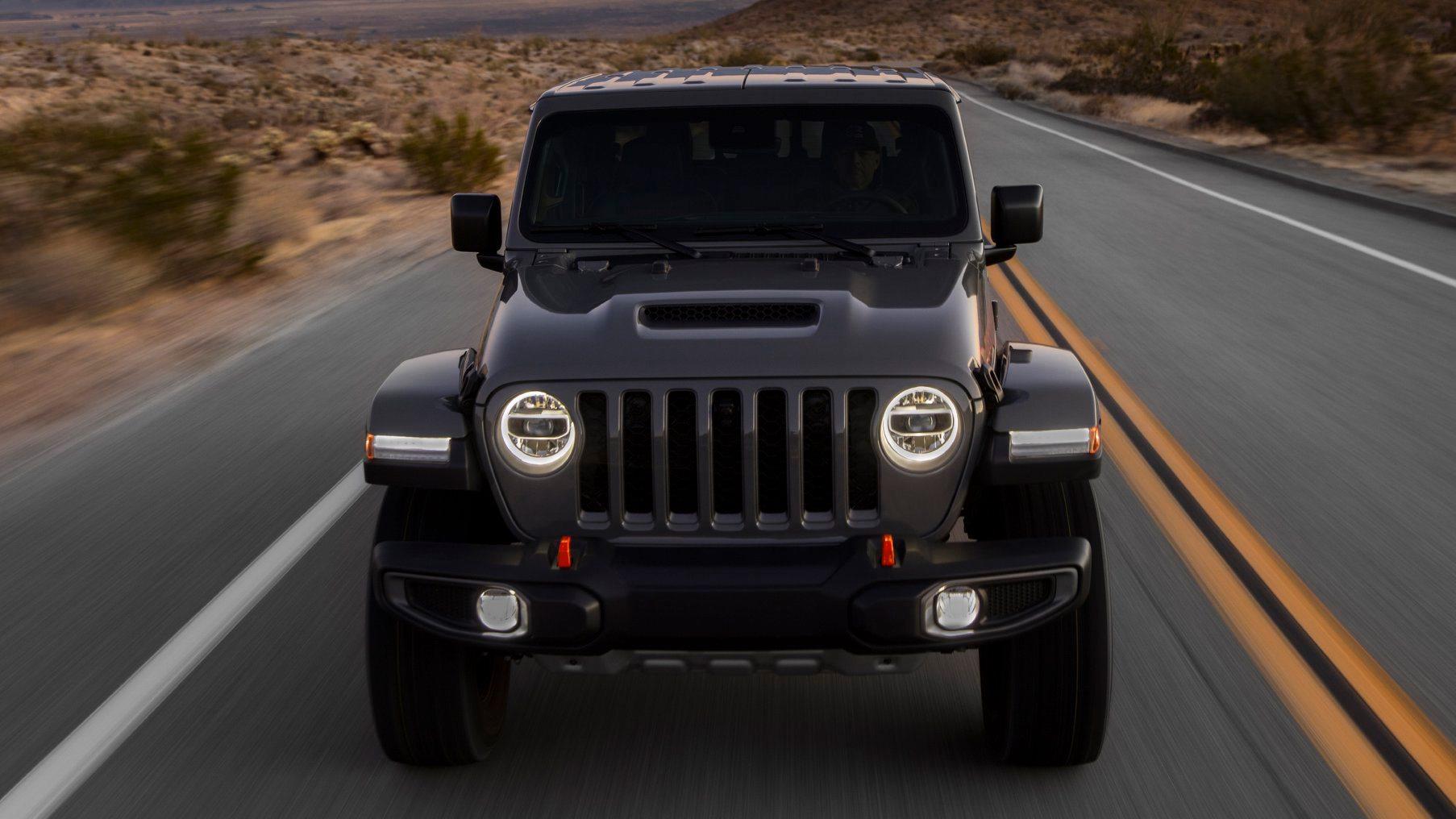 Jeep Gladiator Mojave Desert Rated 2020- highway