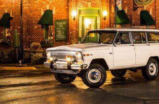 El padre las SUV, Jeep Wagoneer