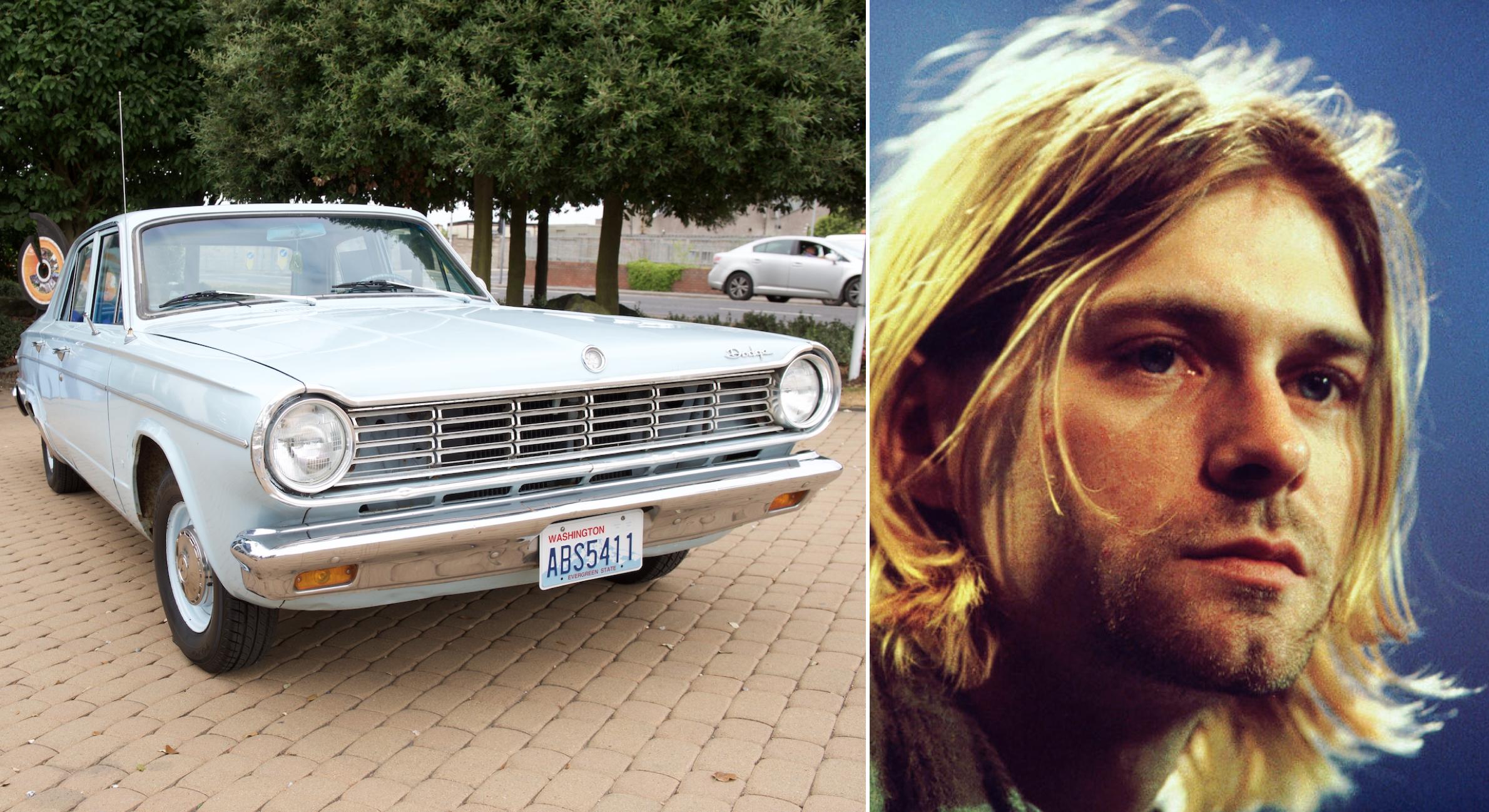 Un 20 de febrero nació Kurt Cobain y este fue el único auto de su vida