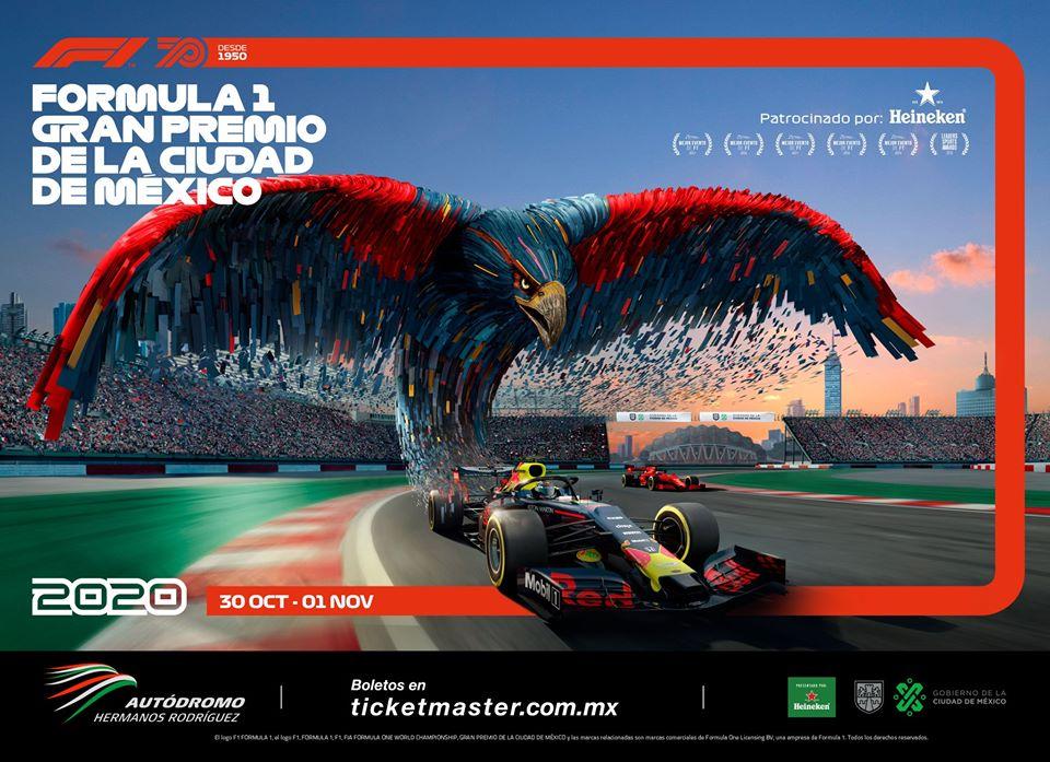 Nueva imagen del Gran Premio de México