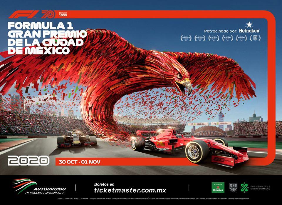 Nueva imagen del Gran Premio de Mexico