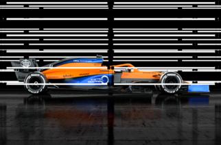 McLaren presenta el MCL35, el nuevo monoplaza de Sainz y Norris