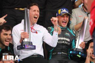 Así se vivió el triunfo de Panasonic Jaguar Racing en el ePrix de México