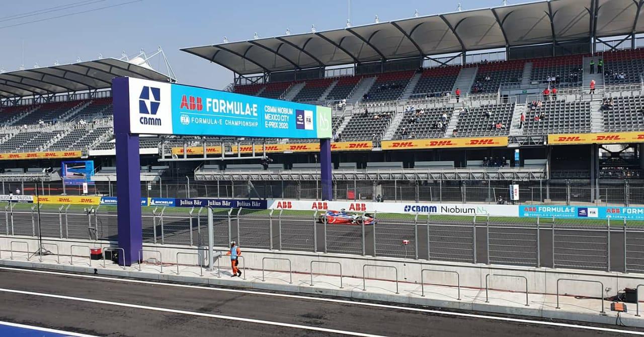 Panasonic Jaguar Racing en el ePrix de México