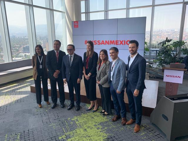 Nissan estrena oficinas –de altura– en México