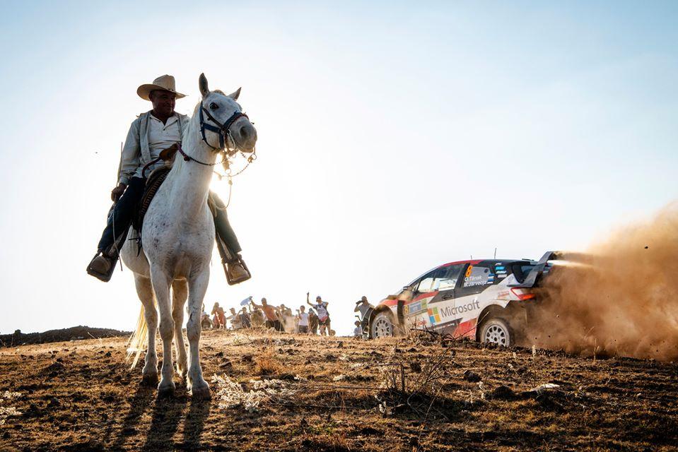 40 tripulaciones competirán en el Rally México