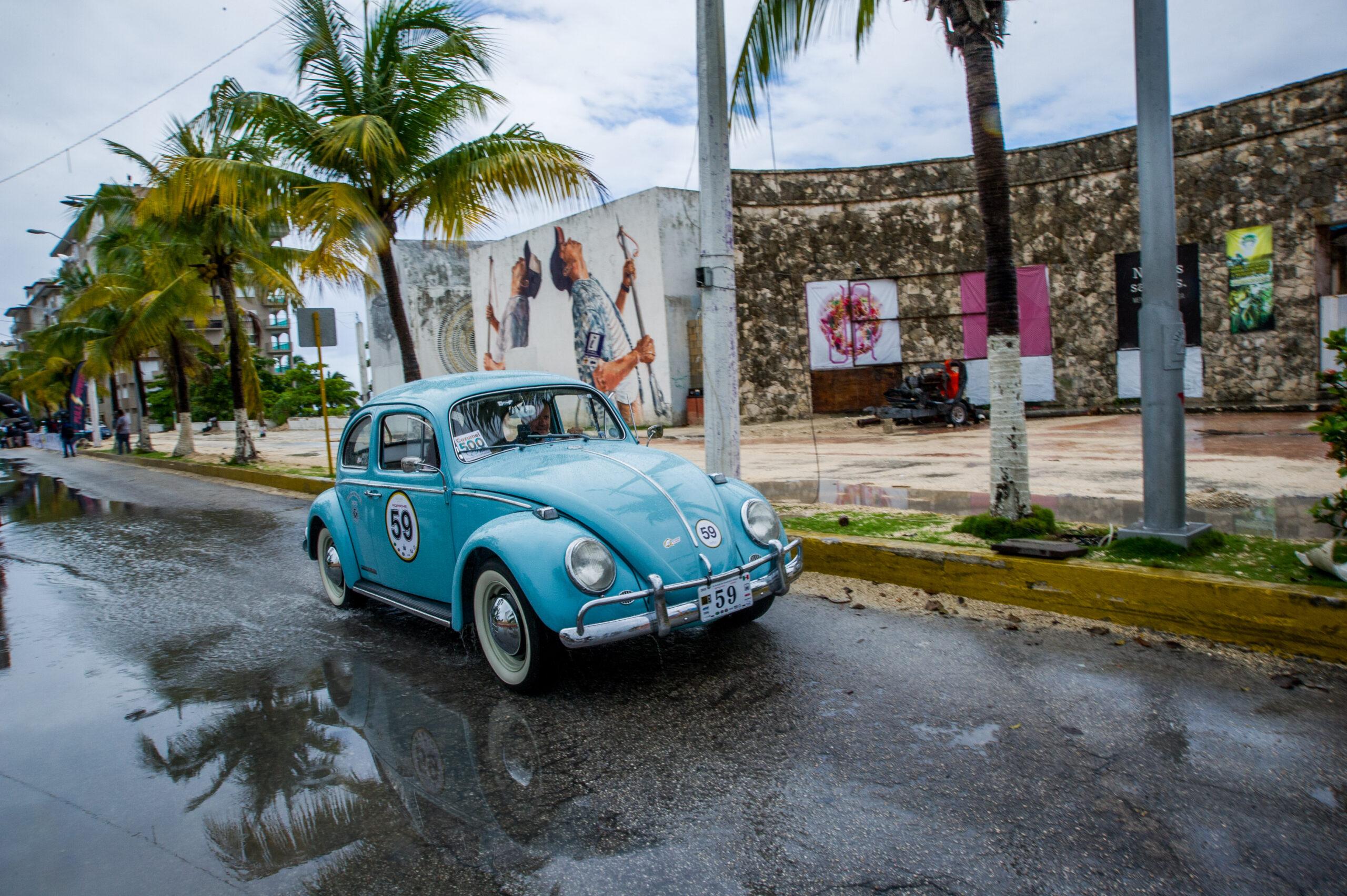 """El Rally Maya será reconocido como el """"Mejor evento Vintage 2019"""""""