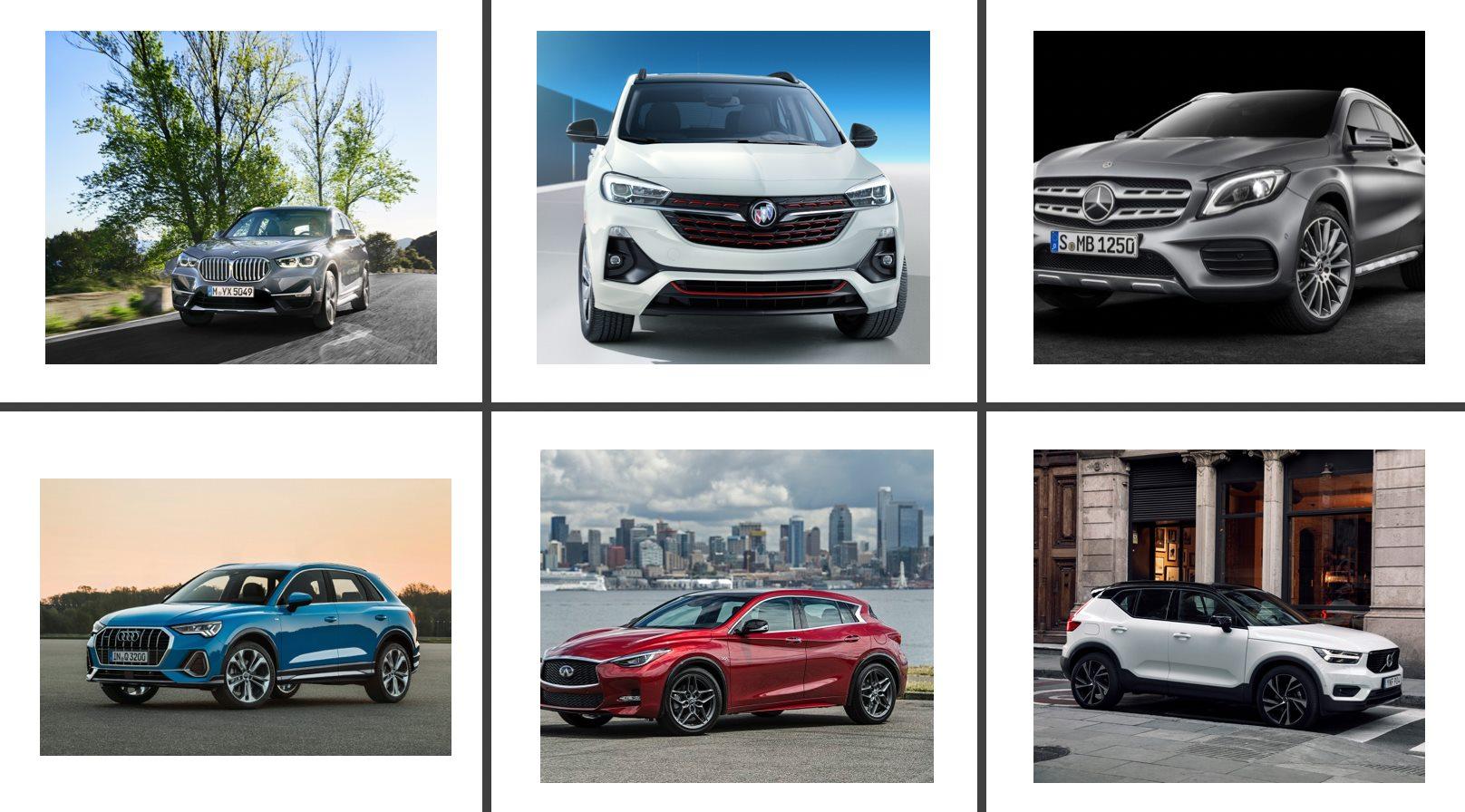 SUV premium compactos comparativa