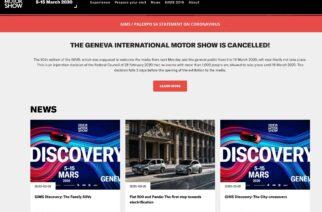 Cancelado el Salón del Automóvil de Ginebra