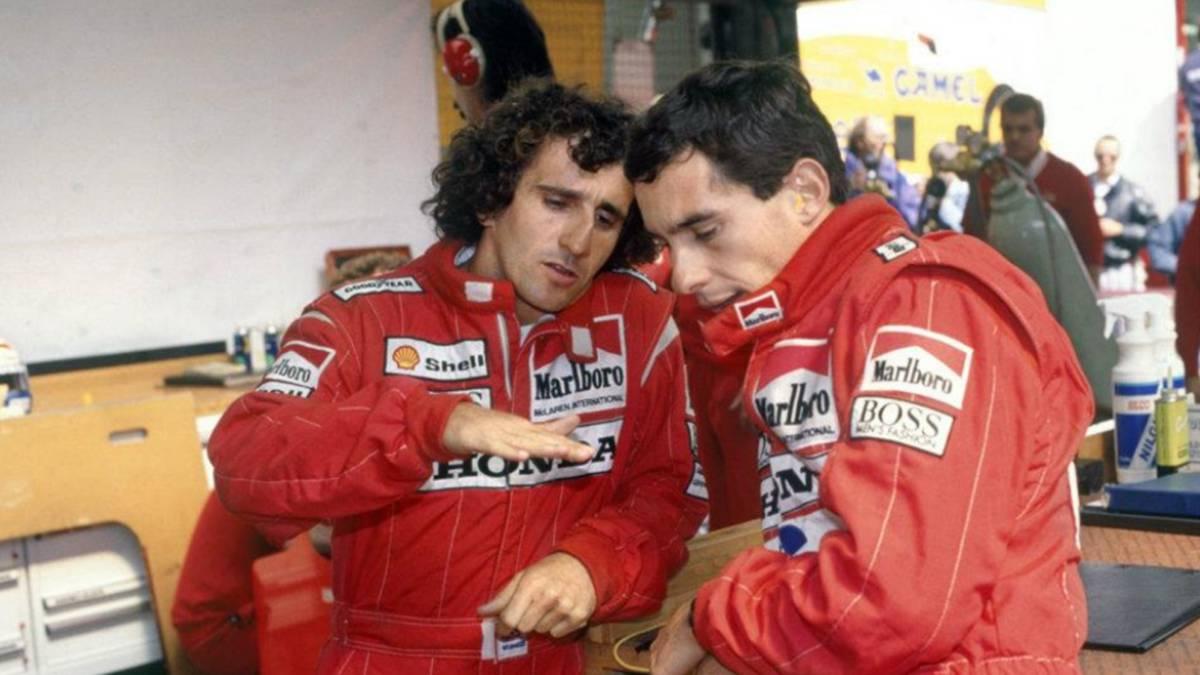 Alain Prost el profesor de la F1