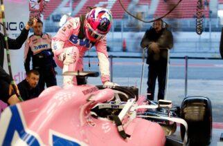 Sergio Pérez más rápido que Mercedes