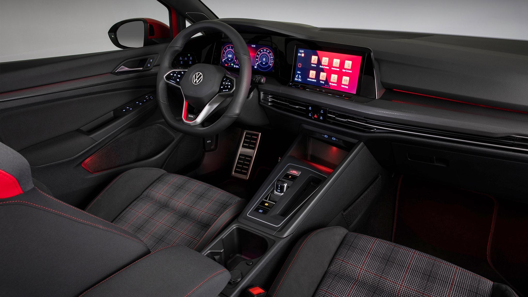 VW GTI 2021- interiores